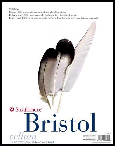 strath-580-bristol-2ply-plate-11x14-pad