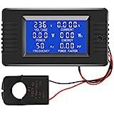 AC Current Voltage Amperage Power Energy Panel Meter LCD Digital Display Ammeter Voltmeter Multimeter with Split Core Current