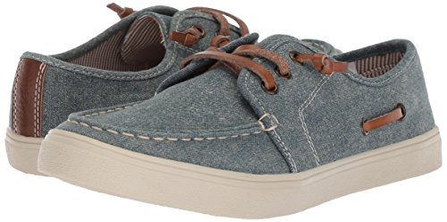 The Children's Place Boys' BB Laceup Street Slipper, Chambray, Youth 12 Medium US Infant - Image 6