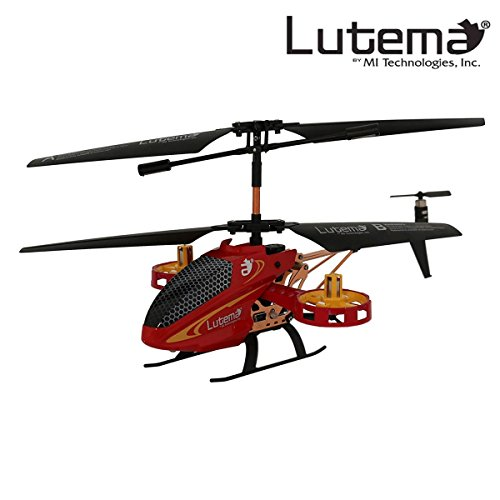 Lutema MIT5CAVHR Avatar 2 Hovercraft 4CH Remote Control Helicopter , Red ()