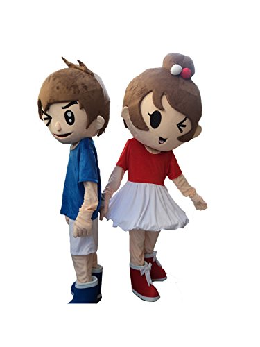 Sinoocean Boy and Girl Halloween Easter Mascot Costume Fancy Dress Suit Outfit (Boy)