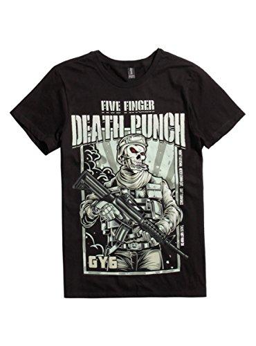 Price comparison product image Five Finger Death Punch Got Your Six T-Shirt