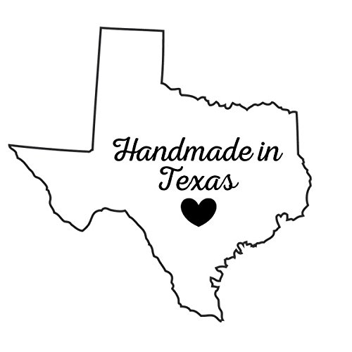 Handmade in Rubber Stamp Scrapbook Customs Texas
