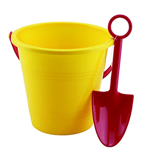 Small World Toys Sand & Water Bucket and Spade