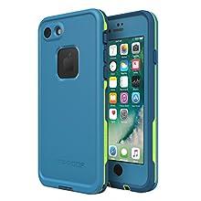 Lifeproof FRĒ SERIES Waterproof Case for iPhone 8 & 7 (ONLY) - Retail Packaging - BANZAI (COWABUNGA/WAVE CRASH/LONGBOARD)