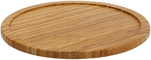 YBM HOME Bamboo Wooden Lazy Susan Turntable 20 Inch Diameter, 481 (Lazy 18 Inch Susan Turntable)