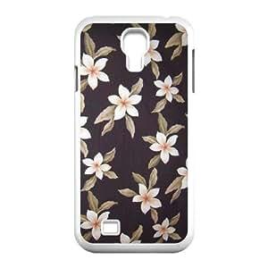 Red Hawaii Flower Original New Print DIY Phone Case for SamSung Galaxy S4 I9500,personalized case cover ygtg605745 WANGJING JINDA