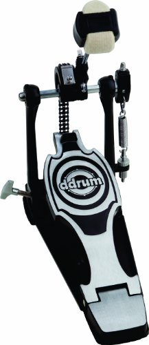 ddrum RXP Bass Drum Pedal RX Series, Black and Chrome (Ddrum Sets Bass Drum)