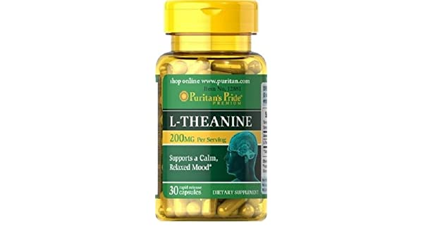 L-Theanina L-Teanina 200 mg 30 caps, ansiedad y menopausia: Amazon.es: Salud y cuidado personal