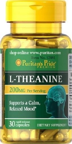 L-Theanina L-Teanina 200 mg 30 caps, ansiedad y menopausia