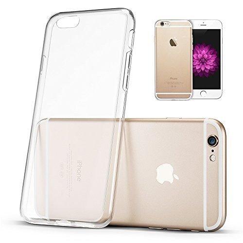 eclick4u iPhone 6Plus/6S Plus Coque en TPU Gel souple transparent Transparent Housse en silicone Bumper–