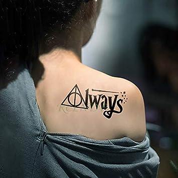 5 unids Etiqueta engomada del tatuaje tatoo a prueba de agua Harry ...