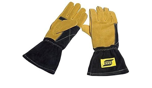 ESAB 0700005040 curvado Mig guante, tamaño Extra grande: Amazon.es ...