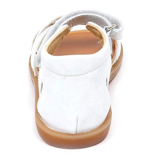 Scarpe Girl Naturino White Sandalo Grey Bimba Sandal strappo Grigio Shoe Bianco Patent E9252 ggSYcB