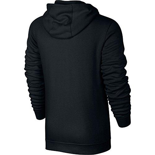 Nike M NSW CLUB HOODIE FZ BB - Chaqueta, Hombre, Negro(BLACK/BLACK/WHITE) BLACK/BLACK/WHITE