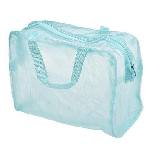SaveStore Clear Travel Makeup Cosmetic Bag Transparent Plast