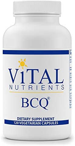 Vital Nutrients – BCQ Bromelain, Curcumin Quercetin – Herbal Support for Joint, Sinus and Digestive Health – Gluten Free – 120 Capsules per Bottle
