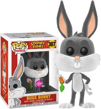 Funko Pop Animation: Bugs Bunny (Flocked) Exclusive Vinyl