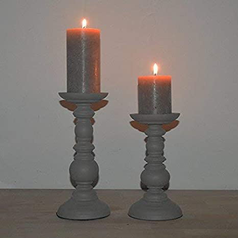 Kerzenleuchter Kerzenhalter Leuchter Kerzenständer Shabby
