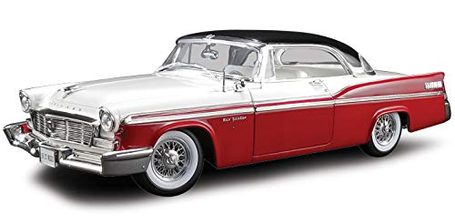 1956 Chrysler New Yorker St. Regis Red and White with Black Top Limited Edition to 552 Pieces Worldwide 1/18 Diecast Model Car by ACME A1809001