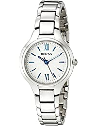 Women's 96L215 Analog Display Quartz Silver Watch