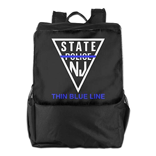 Morrison Jersey - Louise Morrison New Jersey State Police - Thin Blue Line Women Men Laptop Travel Backpack College School Bookbag