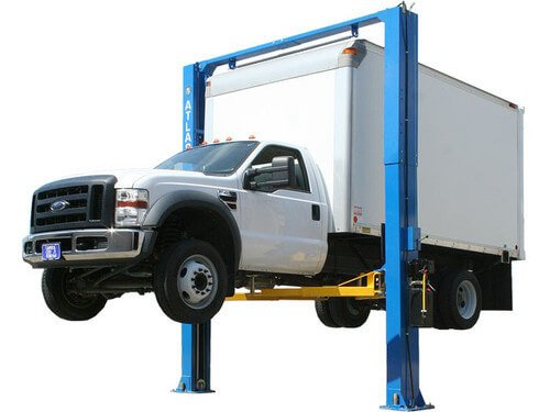 Atlas PV-12P Overhead 12,000 lbs capacity Adjustable Height 2 Post Lift (EXTRA WIDE/EXTRA TALL)