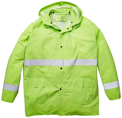- Boss 3PR0350NJ Extra Extra Large Fluorescent Green 35mm Rain Jacket