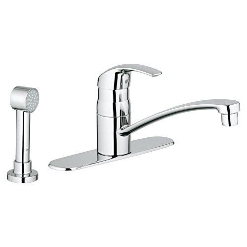Eurosmart Single-Handle Kitchen Faucet With Side Spray
