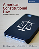 American Constitutional Law, Volume II: 2