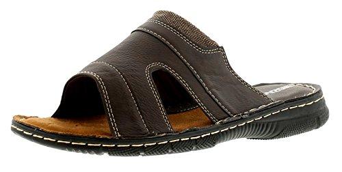 Uomo Stan Marrone Wynsors 6 Brown Taglie Sandali 11 Comfort Inghilterra Da OBwqW5t