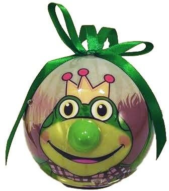 Price comparison product image D&D Blinking Animal Christmas Ornament (Frog)