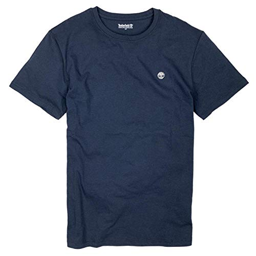 Timberland Men's Short Sleeve Classic Logo Black T-Shirt
