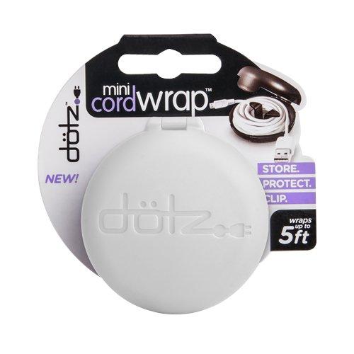 Dotz Mini Cord Wraps, Set of 6, 3- Black and 3- White (MCW32M-C) Photo #3