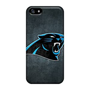 Anti-Scratch Hard Cell-phone Cases For Iphone 5/5s (UxJ13708AsAZ) Customized Attractive Carolina Panthers 7 Series