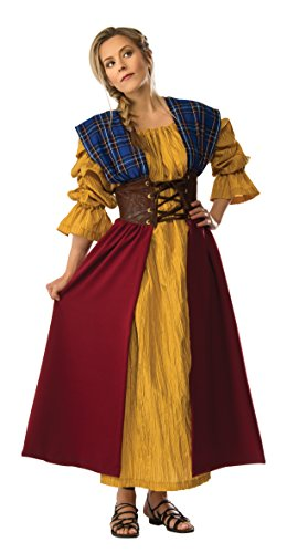 Costumes Scotland (Rubie's Costume Co Women's Grand Heritage Scottish Lady Costume, Multi, Small)