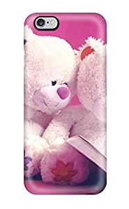 New Premium Flip Case Cover Cute Teddy Bears Skin Case For Iphone 6 Plus