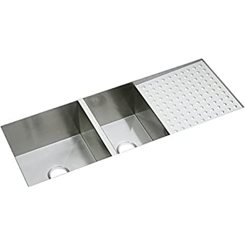 42 Inch Stainless Steel Undermount Double Bowl Kitchen