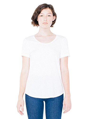 American Apparel Womens Ultra Wash Tee Size M White