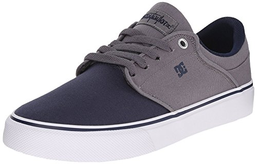 DC Mens Mikey Taylor Vulc Se Skate Shoe, Grey/Black, 38 D(M) EU/5 D(M) UK