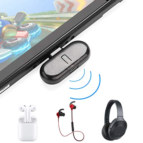TRYER Nintendo Switch USB Type-C Bluetooth Audio Transmitter