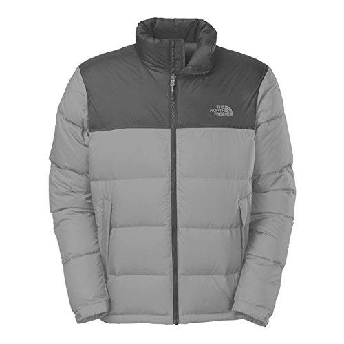 - The North Face Nuptse Down Jacket - Men's Vanadis Grey Heather/Vanadis Grey, L
