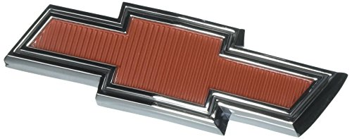 - Trim Parts 9510 Truck Grille Emblem (1967-1968 Chevy Bowtie Red GMC)