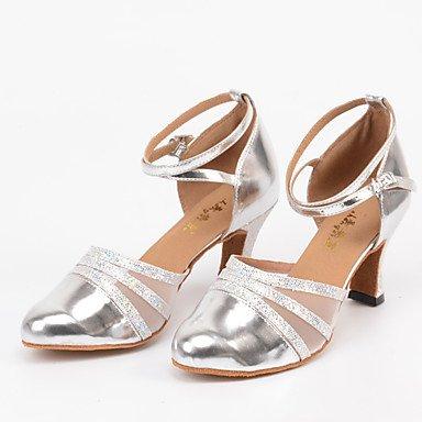 Ue 5 Xiamuo Prata 7 Latina 37 Encomenda 5 Nos Salão Dança Festas De 37 Cn Calcanhar Uk De Mulheres sapatos 6 Por Personalizáveis Feito 4 5 Uqrp7BU
