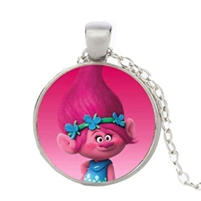 FCS Trolls Princess Poppy Pendant Necklace: Toys & Games