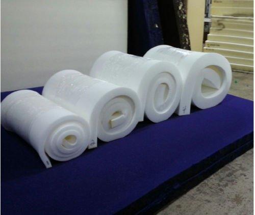 Premium Medium High Density Cushion Replacement//Upholstery Foam 2.8 lb Density 82 Long x 36 Wide 6