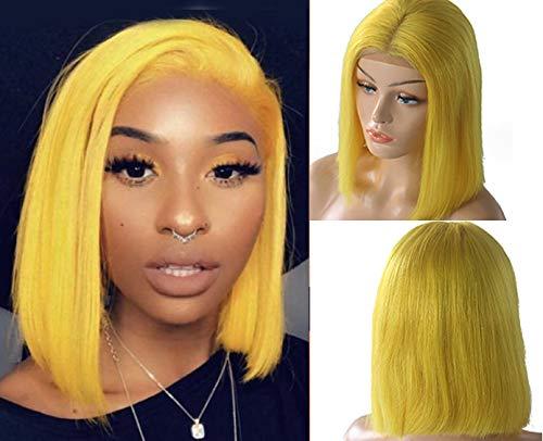 Smartinnov Lace Bob Wigs Yellow Virgin Human Hair
