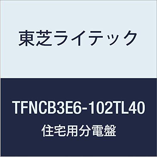 東芝ライテック 小形住宅用分電盤 Nシリーズ TL40(エコキュート 40A + 蓄電) + IH オール電化 60A 10-2 扉付 機能付 TFNCB3E6-102TL40 B01J9QHJGI