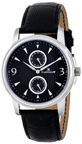 Thomas Earnshaw Men's ES-8026-01 Flinders Analog Display Japanese Quartz Black Watch
