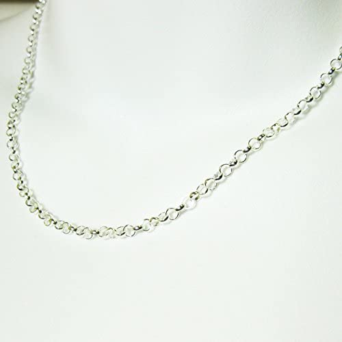 Ready to Wear BeadUnion 925 Sterling Silver Rolo Chain 3.5mm Rolo Chain